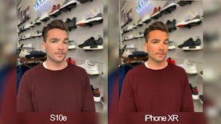 Samsung Galaxy S10e vs iPhone XR Real World Camera Comparison! thumbnail