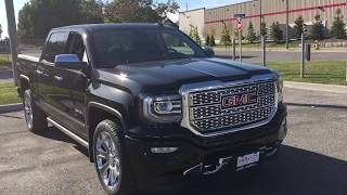 2018 GMC Sierra 1500 Denali Crew Cab Blu Ray DVD Player Power Running Boards Oshawa ON Stock #180119
