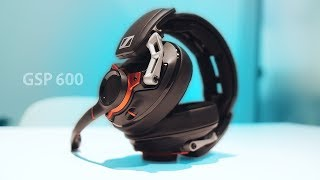 Sennheiser GSP 600 - The Most Comfortable Gaming Headset Ever?