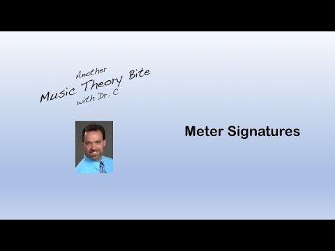 Meter Signatures