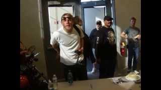 Charlie Hunnam Emilio Rivera Outlaw Jam II in Maryland
