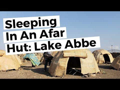 Staying the Night at Lake Abbe, Djibouti