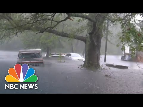 Floodwaters From Tropical Storm Florence Creep Up On Small N.C. Town | NBC News
