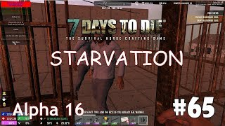 7 Days to Die (Alpha 16 + Starvation) #65 - Солнечные панели и механик