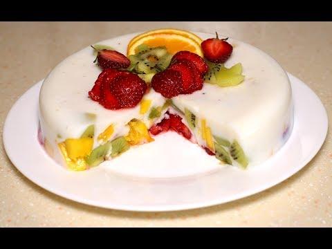 Вопрос: Как приготовить фруктовый торт без выпечки?