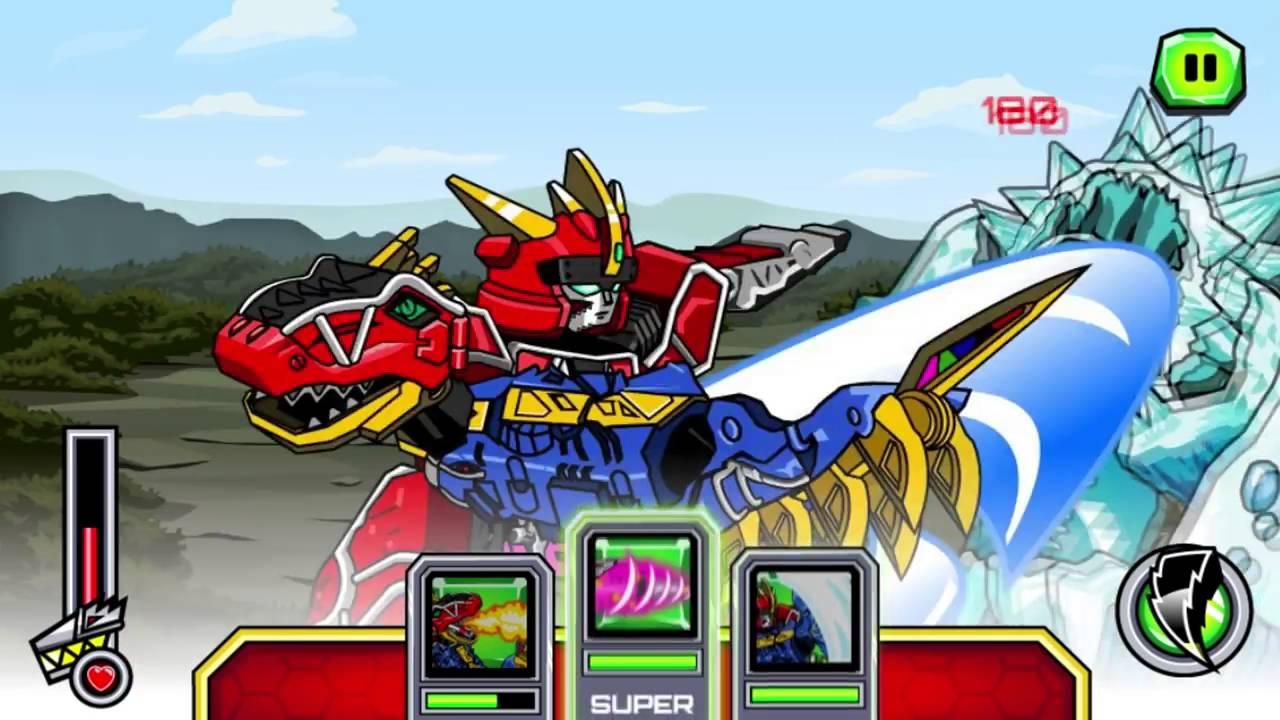5 Anh Em Siêu Nhân, Siêu Nhân Khủng Long Power Rangers Monster Fighting  Frenzy Game