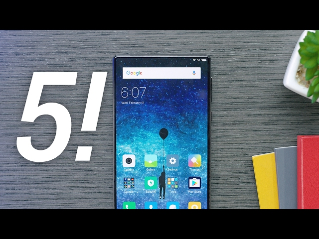 Top 5 Future Smartphone Features!