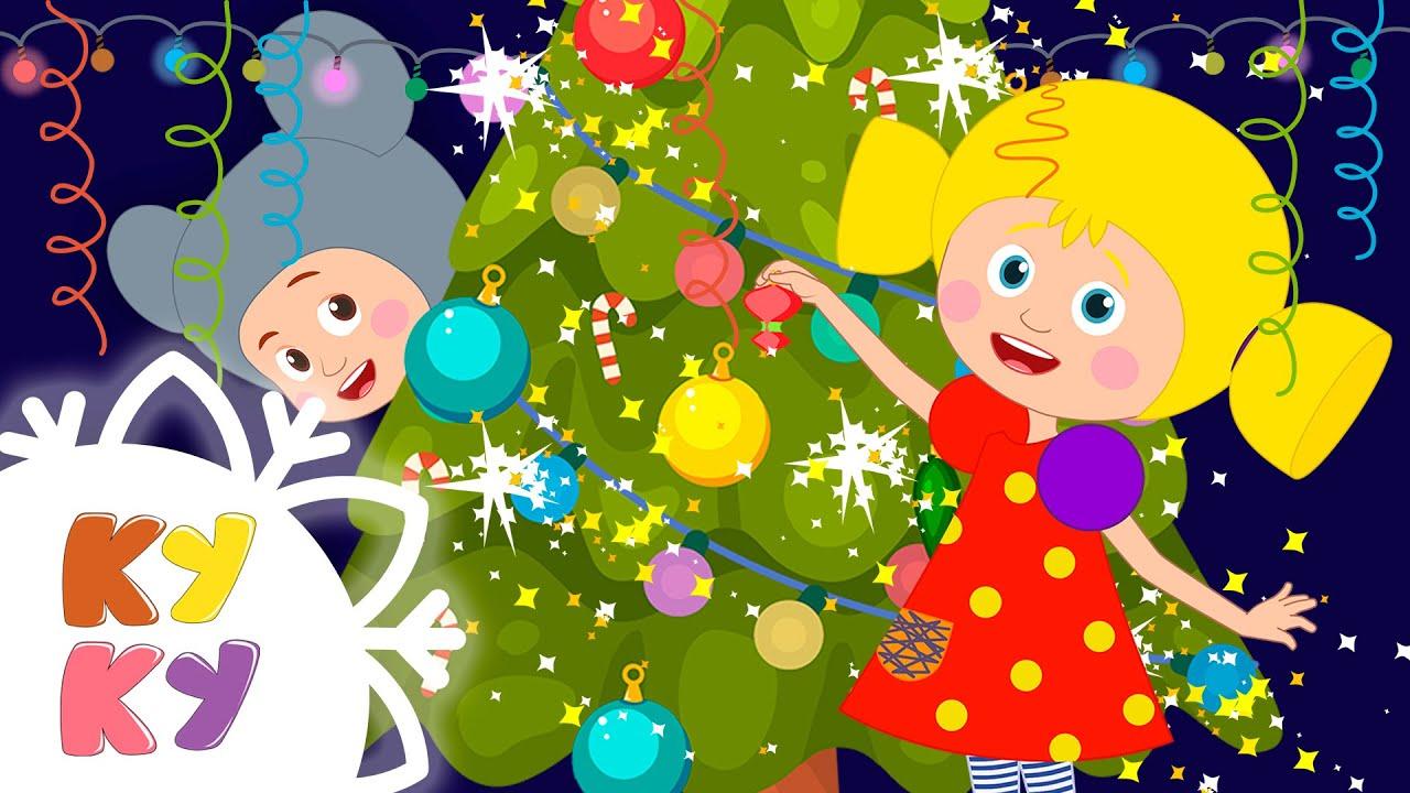 КУКУТИКИ -  НОВЫЙ ГОД 2020 - Новогодняя песенка Праздничная Деде Мороз и Снегурочка для детей