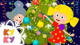 КУКУТИКИ НОВЫЙ ГОД 2020 Новогодняя песенка Праздничная Деде Мороз и Снегурочка для детей