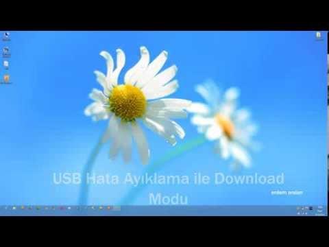 USB Hata Ayıklama ile Download Mode