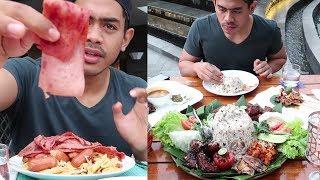 Menjarah Makanan Di Hotel Grand Mercure Bandung