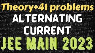 Physics Crash Course JEE Main 2019: Alternating current revision|AC in Hindi NEET/BITSAT/Class12