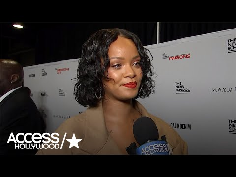Rihanna On Being Honored By Parsons: 'It Means A Lot'