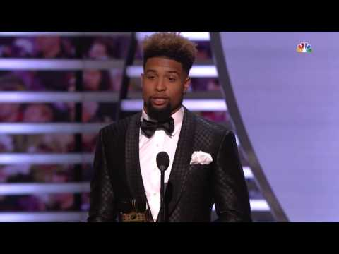 Odell Beckham wins 2014 Offensive Rookie of the Year award
