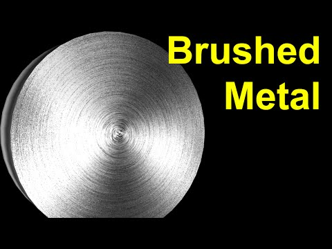 3D Max Tutorial:Brushed Metal Texture in Photoshop & 3D Max