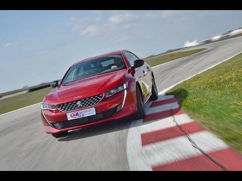 Peugeot 508 - Test on track NAVAK