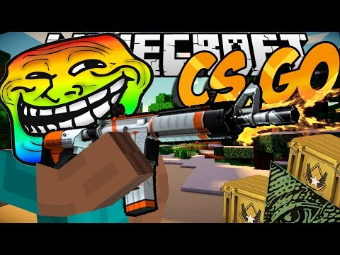 Minecraft mody! BRONIE Z CS:GO | COUNTER STRIKE MOD