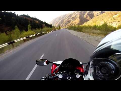 Yamaha R1, Almaty Mountains, 2014