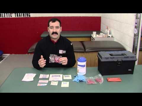 Towson Sports Medicine First Aid Kit Essentials