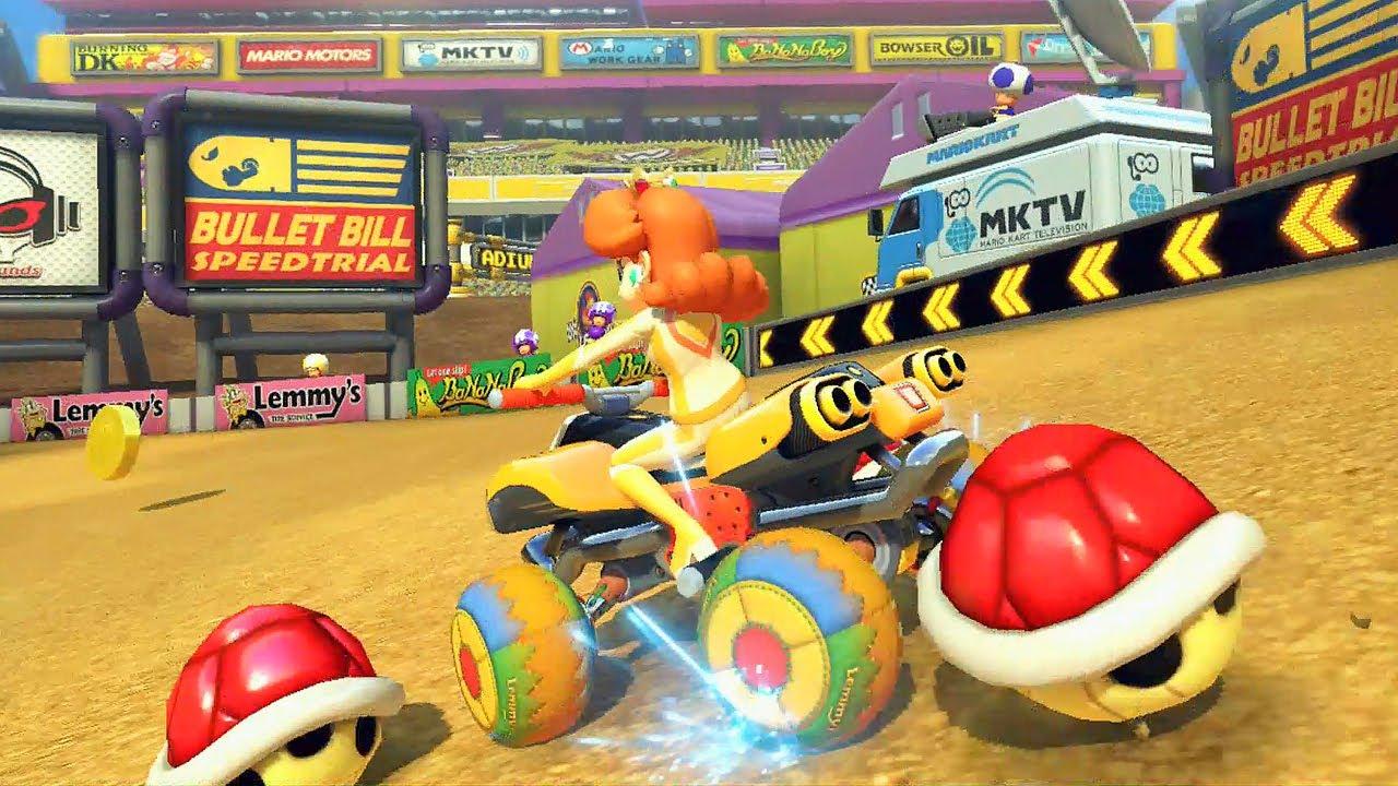 Mario Kart 8 Daisy Na Leaf Cup 150cc Nintendo Wii U Hd