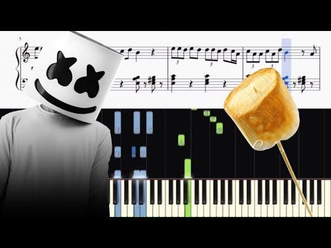 Marshmello & Anne-Marie - FRIENDS - Piano Tutorial + SHEETS