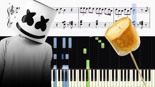 Marshmello Anne-Marie FRIENDS - Piano Tutorial SHEETS.mp3