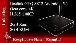 mejor tv box de siempre android tv box beelink gtq s812 espaol