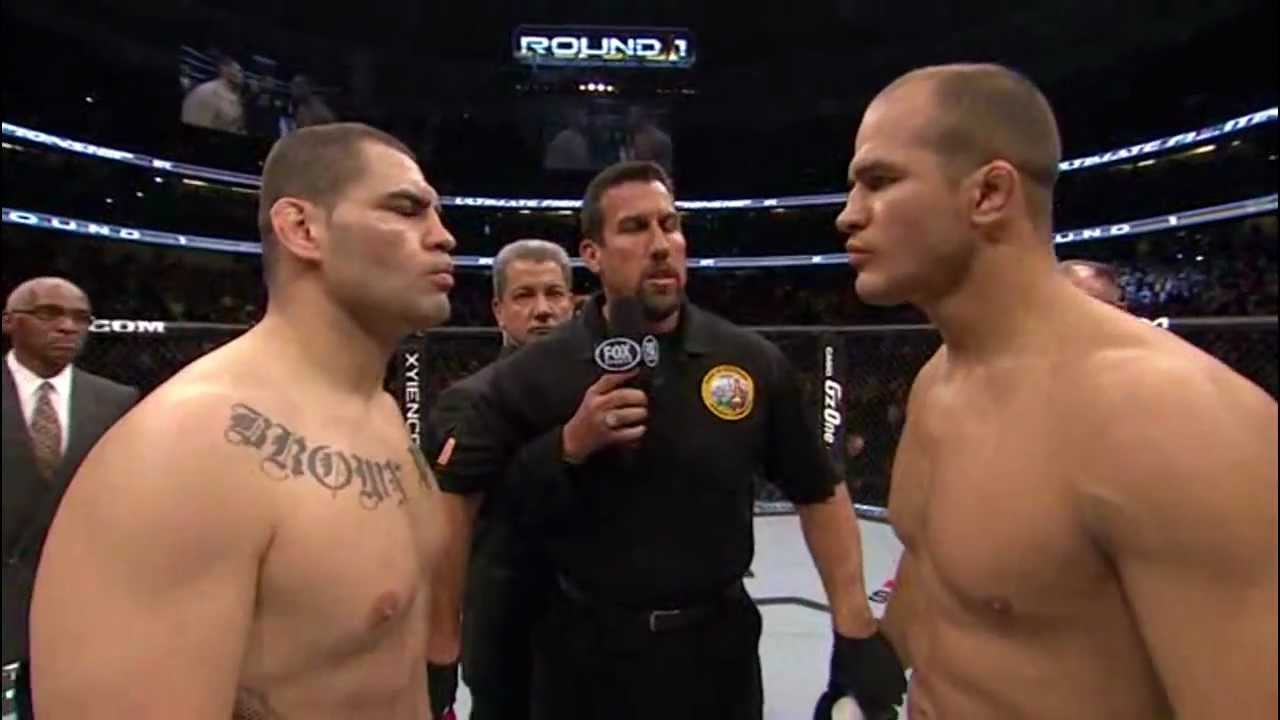 - velasquez vs junior dos santos, YouTube retrospective cain