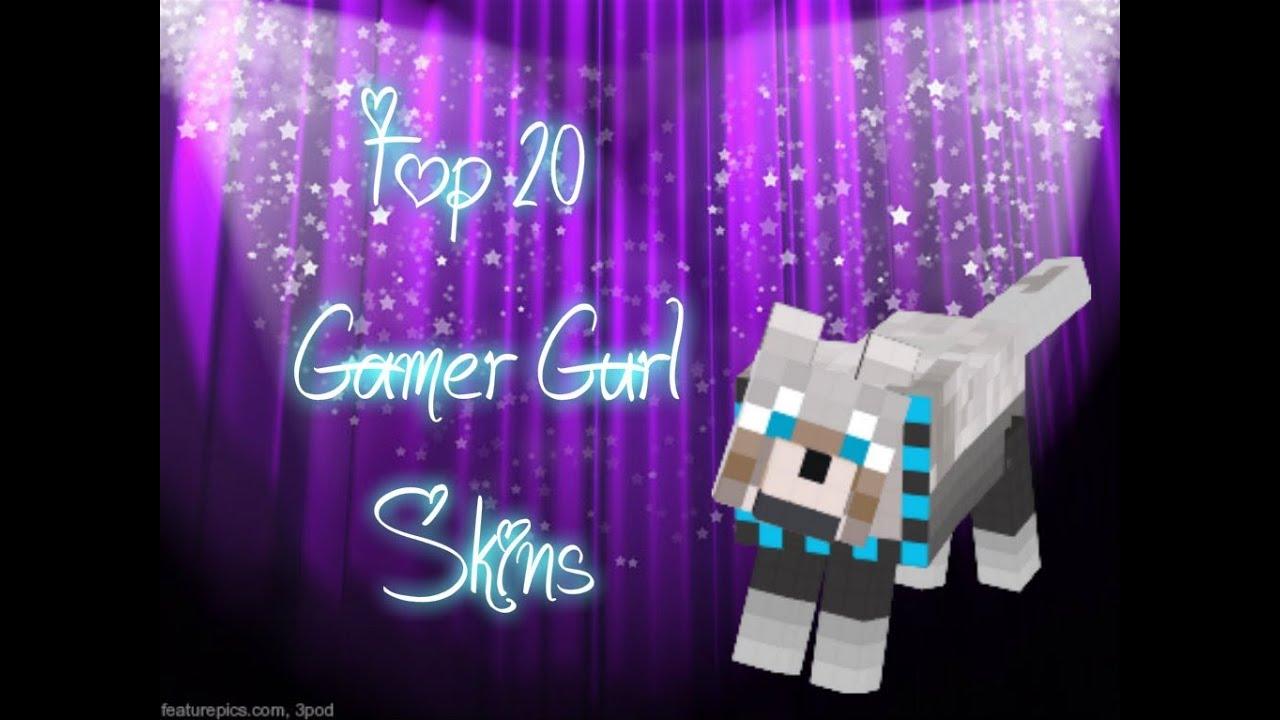Girl Gamer Pc Wallpaper Top 20 Gamer Girl Skins Youtube