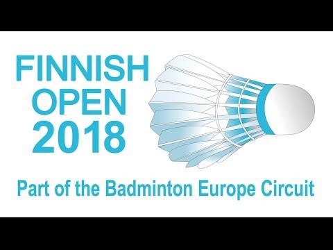 Adrian George vs Mika Kongas MS, Qualifier  Finnish Open 2018