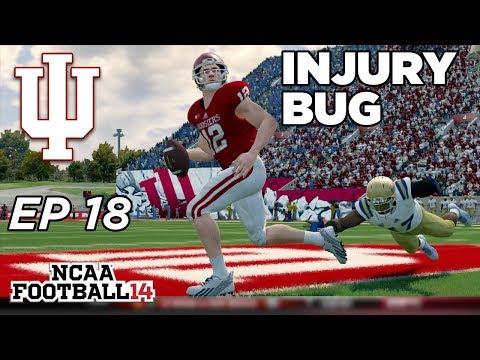 NCAA Football 14 Dynasty | Indiana Hoosiers - 2 HUGE INJURIES!! - Ep 18