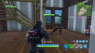 Fortnite matando com granada d dança.