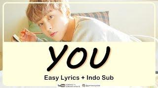 XIUMIN - YOU Easy Lyrics by GOMAWO [Indo Sub]