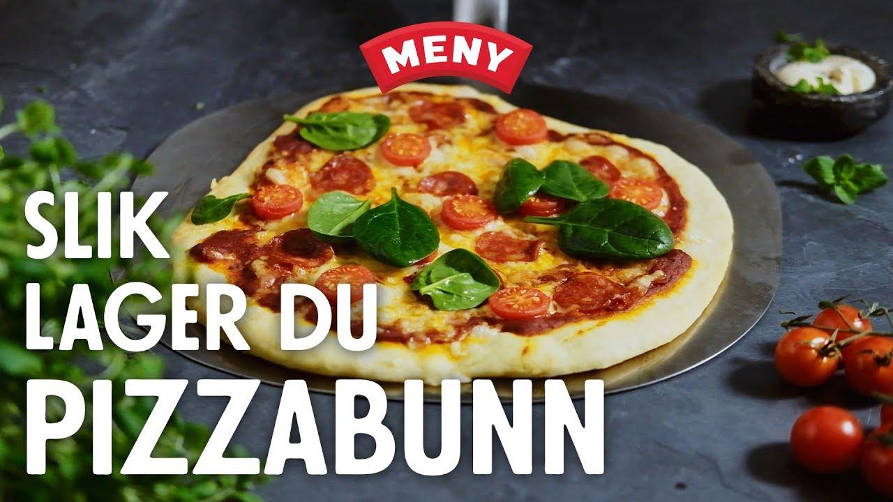pizzadej med pizzamel
