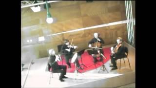 J.Chr.Bach, Flötenquartett C-Dur, Op.8 2.Rondeau-Grazioso Dejean Quartett Kassel