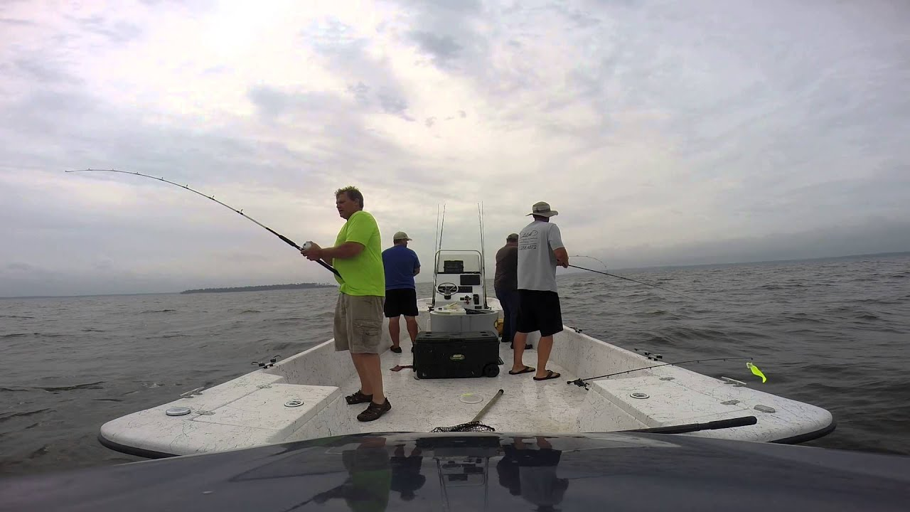 Striper fishing lake livingston youtube for Lake livingston fishing report