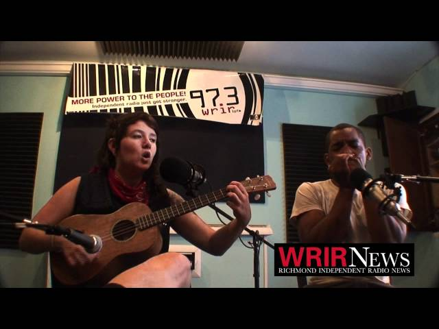 "Alison Self - ""Me and My Gin"" - Live @ WRIR Studios"
