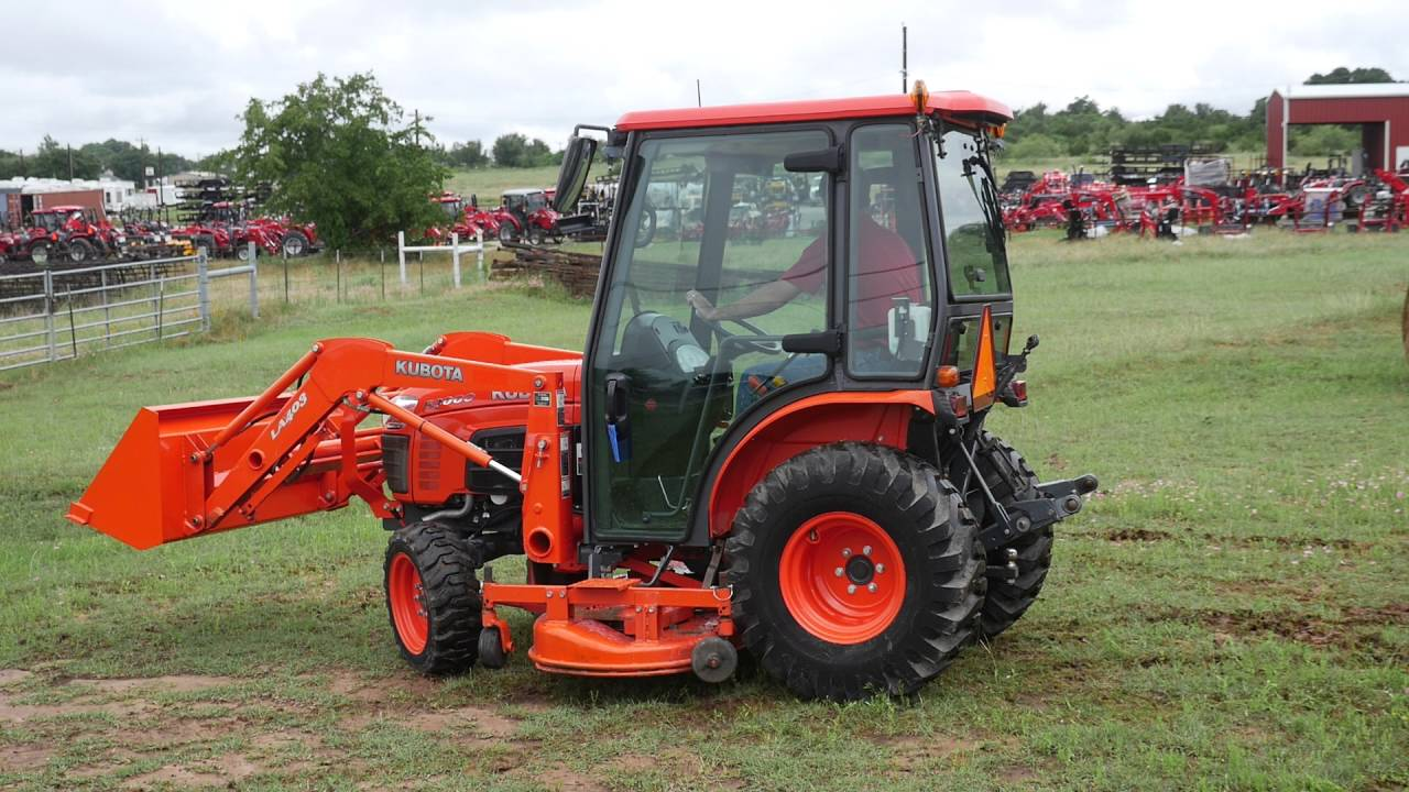 Demo Video Of Kubota B3000 Cab Tractor With Loader 4x4