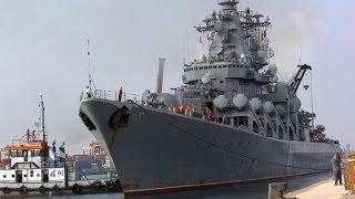 Alejandría recibe con salvas y júbilo el crucero ruso Variag