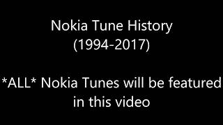Gambar cover Nokia Tune History (1994-2017) - ALL AND EVERY SINGLE NOKIA TUNES