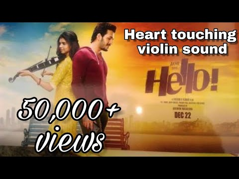 Heart touching violin sound || hello(taqdeer)