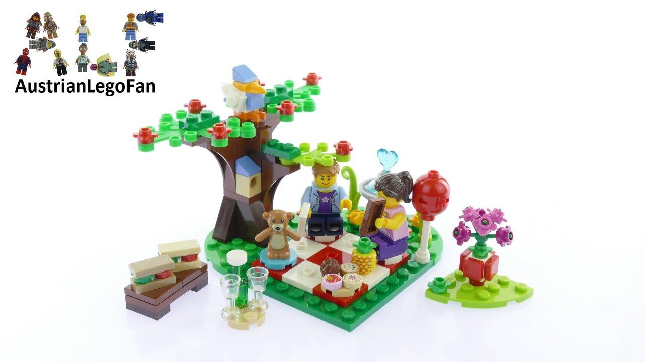 LEGO SET 40236 Romantic Valentine/'s Picnic NEW Seasonal Love Minifig Tree Bird
