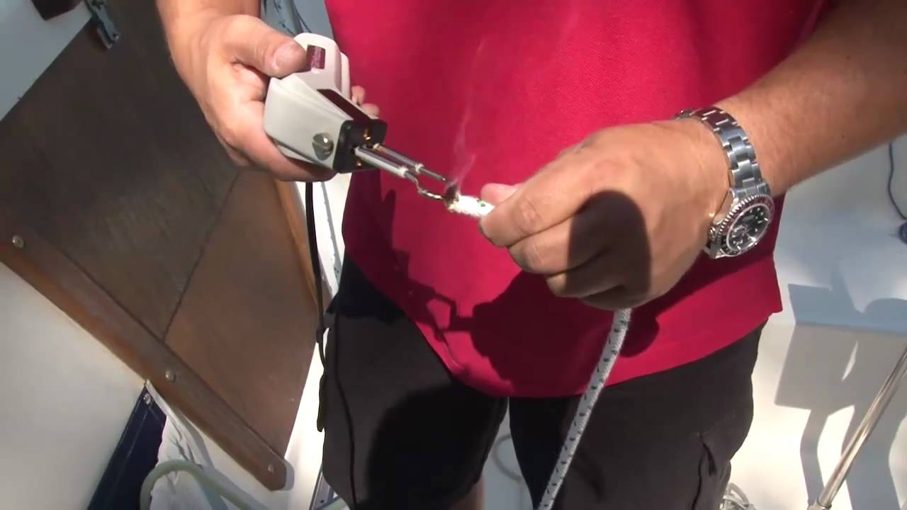 Replacing your Halyard Rope - Sailboat Halyard Line - YouTube