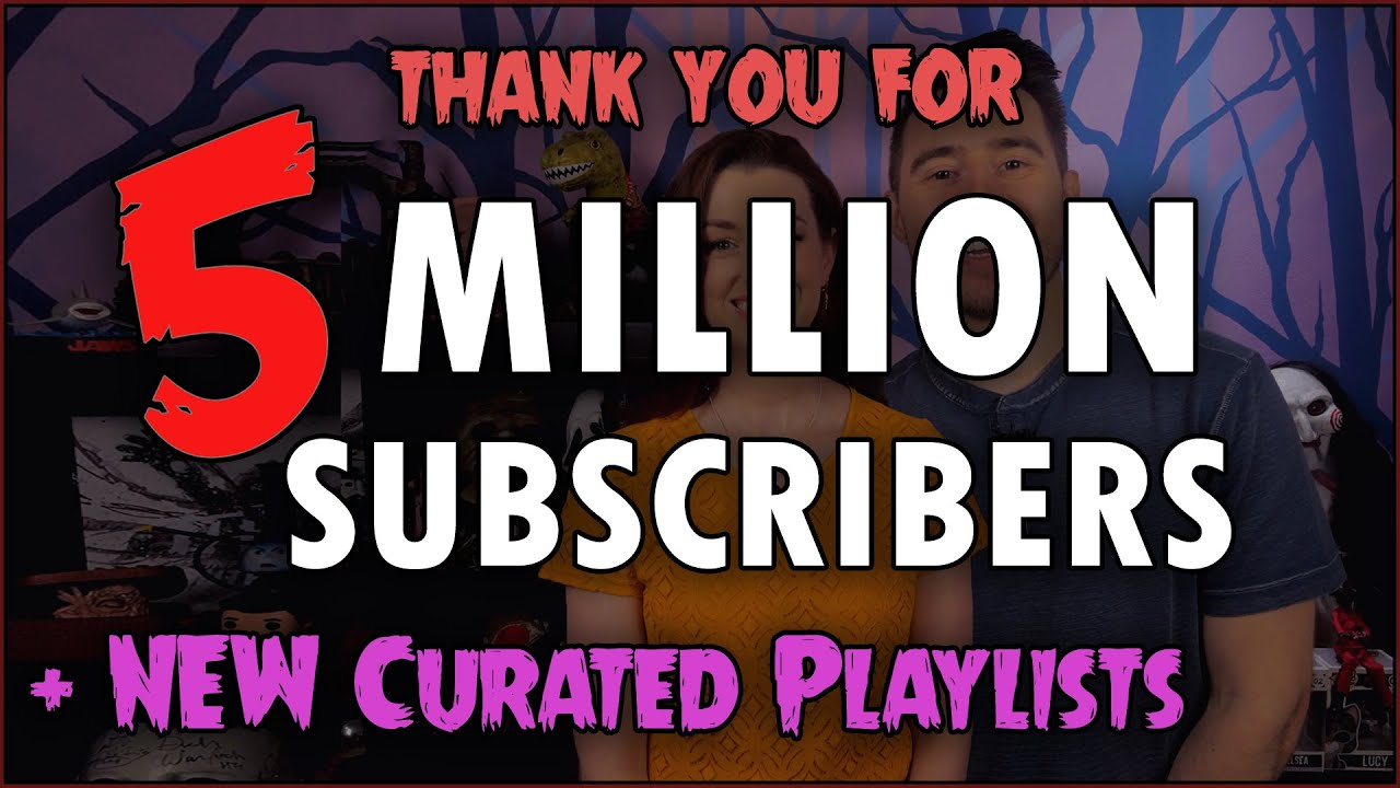5 MILLION SUBS & NEW Curated Playlists!
