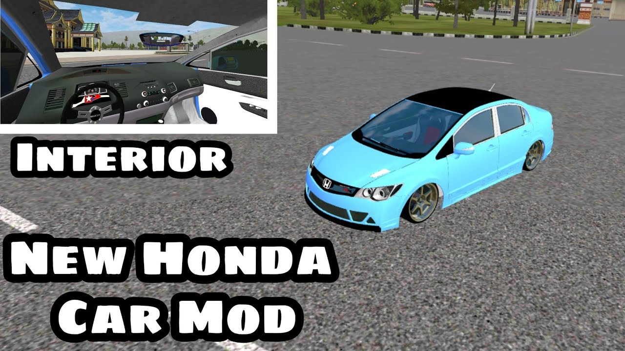 66 Mod Bussid Mobil Honda Civic Gratis