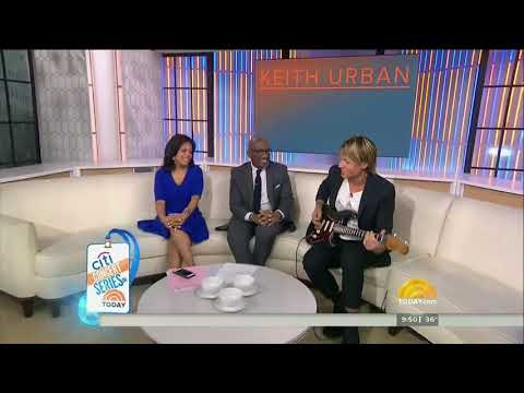 NBC TODAY KEITH URBAN Blue Ain't Your Color 720p