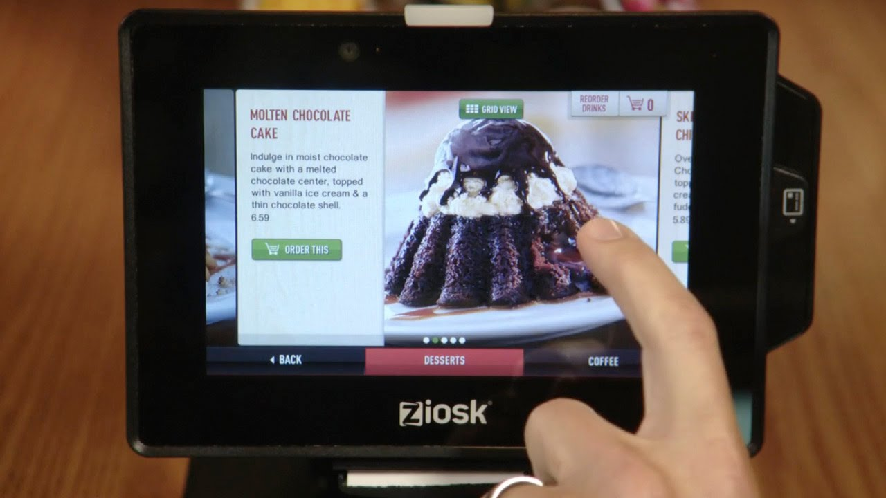2015 may be the year of the tablet and online order at us restaurants youtube - Olive Garden Online Ordering