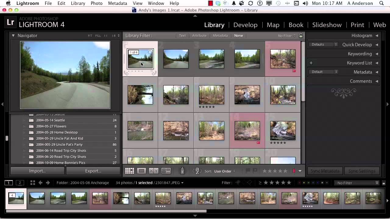 Adobe Photoshop Lightroom 4 Tutorial | Working with Image Stacks