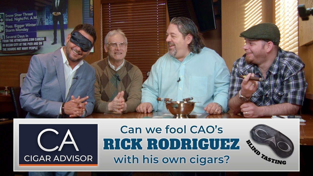 Cigar Advisor Blind Tasting: CAO Cigars with Rick Rodriguez