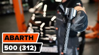 Replacing Ignition Coil yourself video instruction on ABARTH 500 / 595